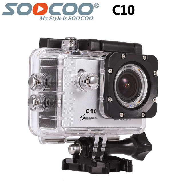 Original SOOCOO C10 Action Camera Wifi Sports DV 1080P Full HD 170 Degree Wide Angle Lens NTK96655 30m Waterproof Sport Cam