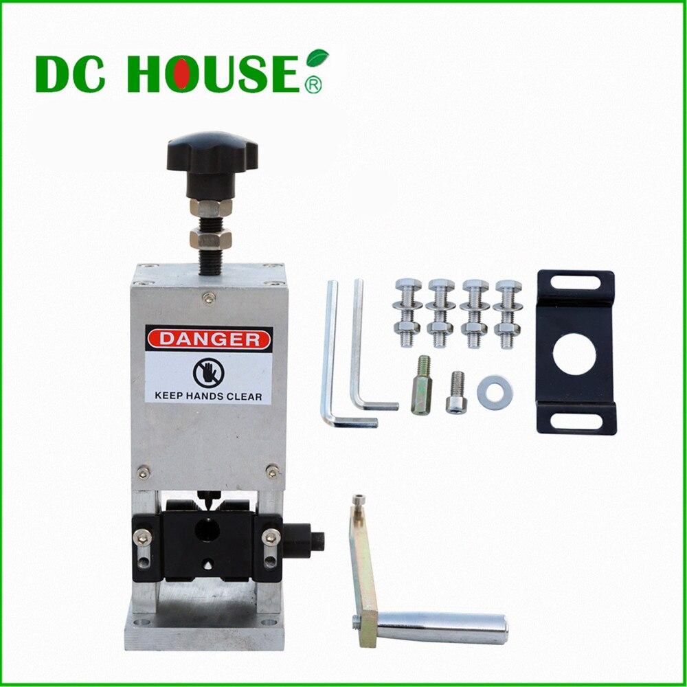 ECO Reciclar Pelacables Máquina De Desmontaje del Alambre de Cobre de 1.5mm --- 25mm