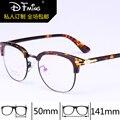 Retro marco de los vidrios TR90 ultra-ligero gafas hombres 9105 marco de anteojos mujeres del marco óptico de alto grado Completo llanta Miopía