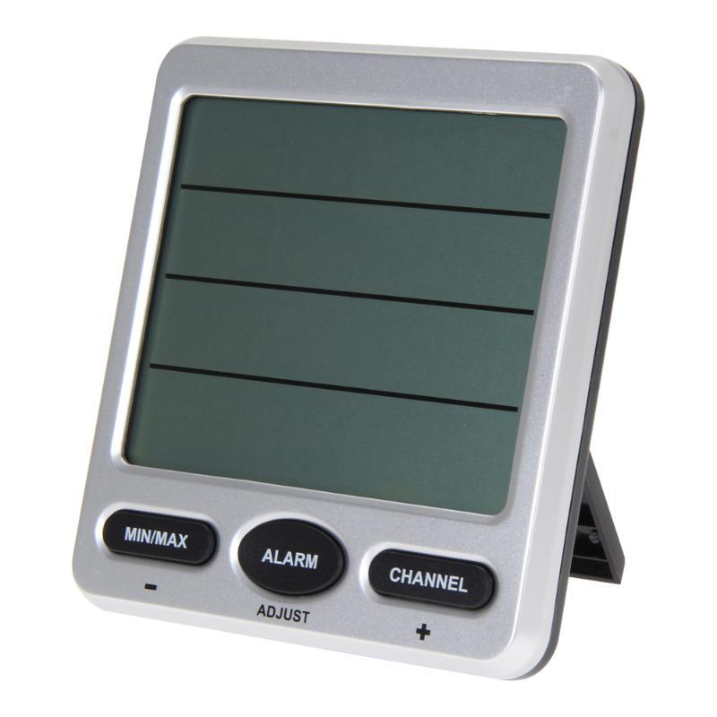 ワイヤレス液晶デジタル温度計湿度計屋内/屋外リモートセンサー周囲天気ステーションサーモ湿度計  グループ上の ツール からの 温度計測機器 の中 3