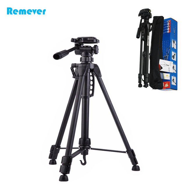 Newest 3730 Professional Tripod Aluminum Adjustable Tripod With Ball Head  Gimbal Camera Stand Holder For Nikon