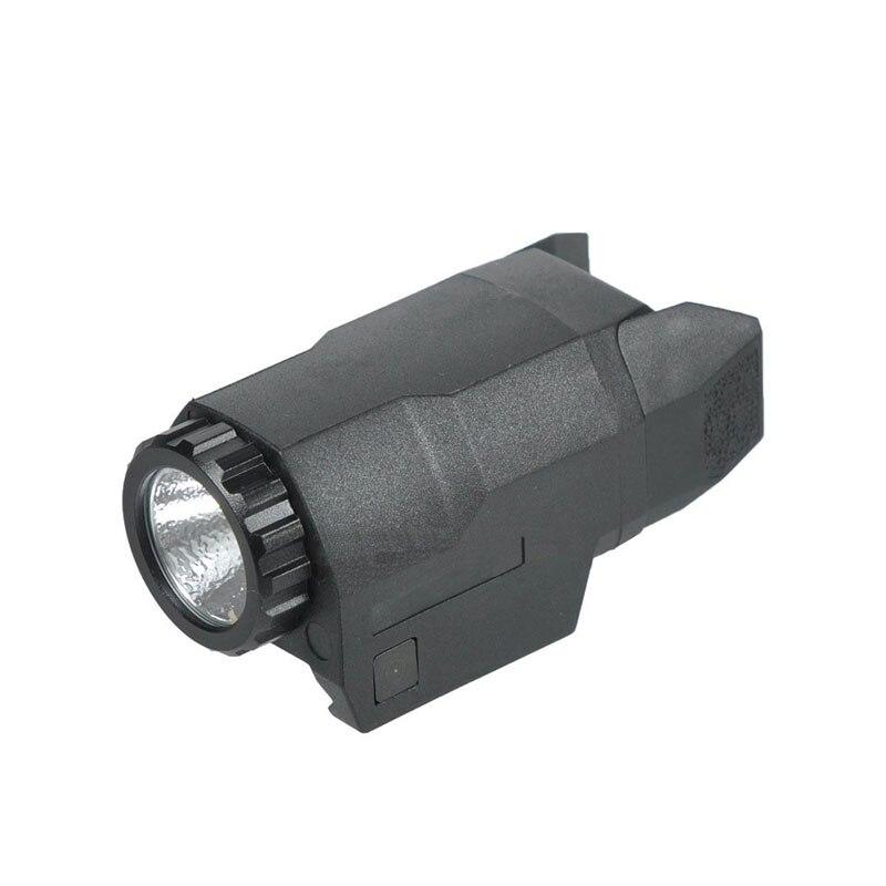 APL-C lumière tactique Mini pistolet lumière constante/momentanée/stroboscope 200 Lumens LED lumière d'arme blanche pour Glock 17/19/21/22