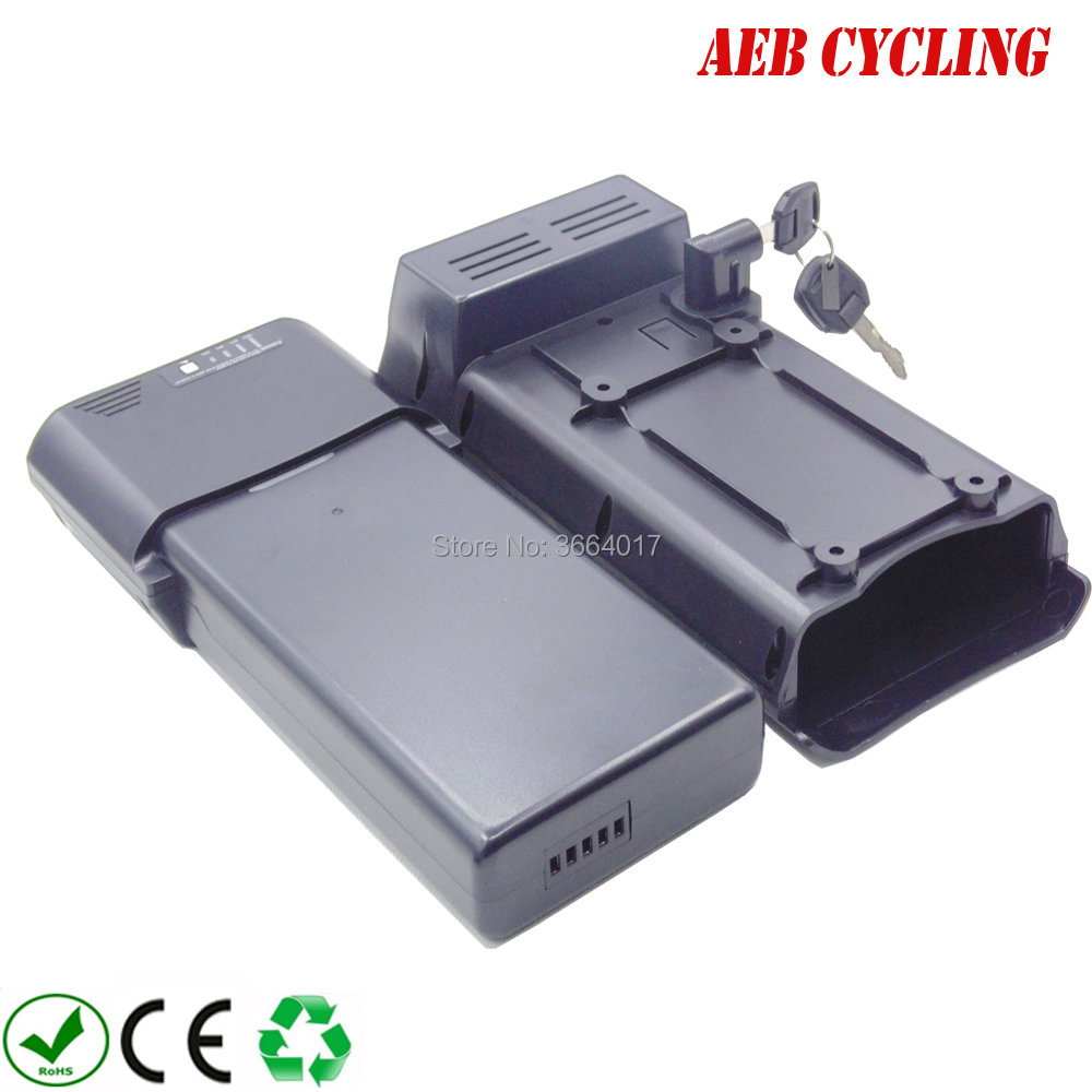 Free shipping and taxes to EU US China Ebike Li-ion 36V 10Ah SL rear rack battry for city bike folding bike with charger china electric bicycle 18650 lithium ion battery pack 36v 13 2ah sl rear rack battery for city bike folding bike with charger