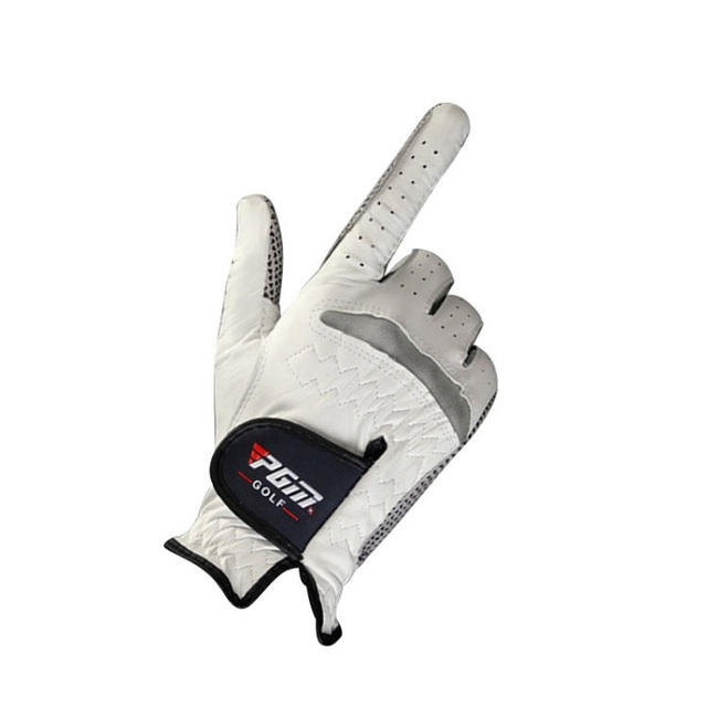 1pcs Golf Gloves Men's Left Right Hand Soft Breathable Pure Sheepskin With Anti-slip Granules