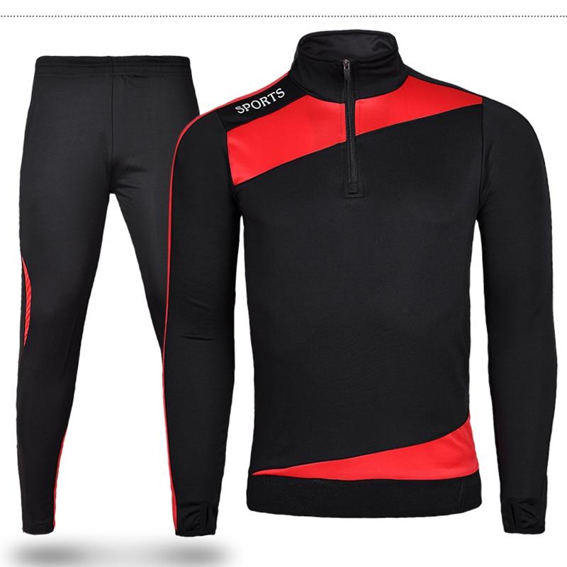 Män Vintersport Running Survetement Fotbollssats Lång jacka kostym - Sportkläder och accessoarer