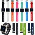 Substituição de Silicone Wrist Band Strap Pulseira Relógio Pulseira para Fitbit Blaze