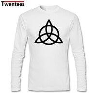 Mannen Lange Mouwen Print Katoen Custom Big Size Dieptepunt Shirt Crazy Led Zeppelin John Paul Jones Logo Tshirts Mannen Groothandel