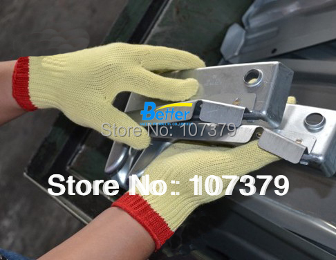 HPPE Anti Cut Safety Gloves Aramid Fiber Cut Resistant Work Glove цены онлайн