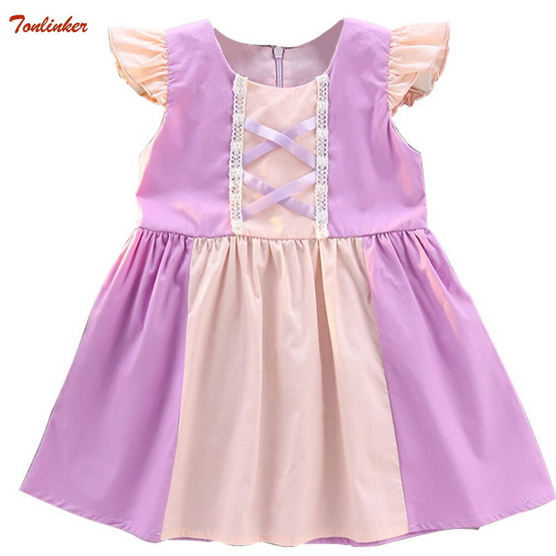 LOL BABY GIRL CHILDREN DRESS BELLY SCARED BIRTHDAY COSTUME PRINCESS LOL COSTUME