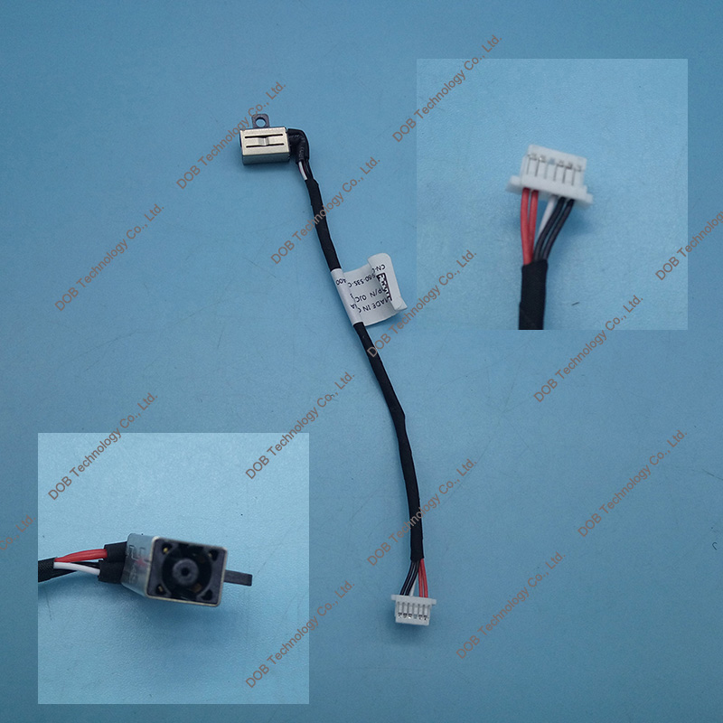 DC POWER JACK PLUG SOCKET INPUT PORT CABLE FOR Dell Inspiron 11 3147 3000 0JCDW3 new dc power jack socket connector wire harness for laptop dell inspiron 15 3558 5455 5000 5555 5575 5755 5758