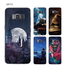 Case Cover for Samsung Galaxy S9 S8 Plus S9Plus S8Plus S9+ S8+ S7 S6 Edge harry potter deer Cell Phone Shell Coque S7Edge S6Edge(China)