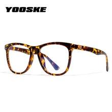 YOOSKE винтажные очки против голубого излучения, женские очки для чтения, синий светильник, очки, компьютерные прозрачные оптические очки