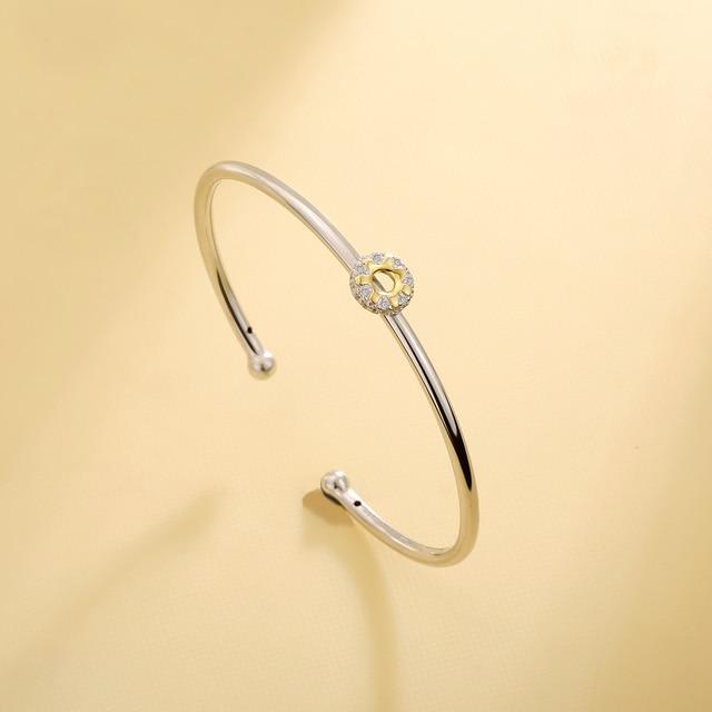 925 Sterling Silver Adjustable Bracelet 3