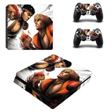 Anime Cute Girl Kantai Collection PS4 Slim Skin Sticker Decal Vinyl for Playstation 4 Console and Controller PS4 Slim Stickers