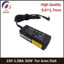 Qinern 19v 158a 30w 55*17mm ac Адаптер зарядного устройства