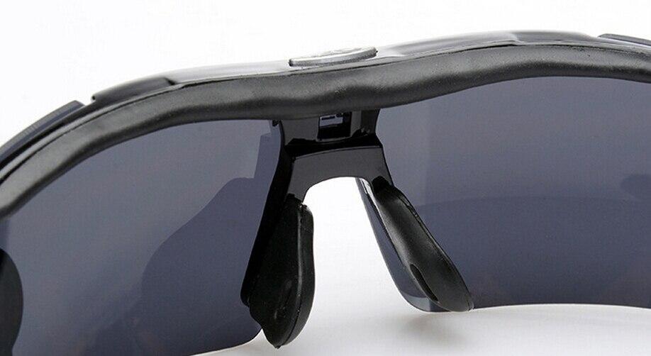 ROBESBON 3 Lens Bicycle Riding Eyewear Outdoor Fun and Sports Motorcycle Sports Bicycle Eyewear Goggles