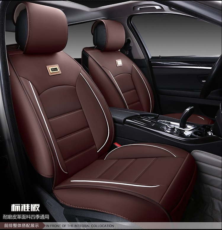 For Renault Fluence Latitude Talisman LAGUNA wear-resisting waterproof leather car seat covers Front&Rear full covers microfiber leather steering wheel cover car styling for renault scenic fluence koleos talisman captur kadjar