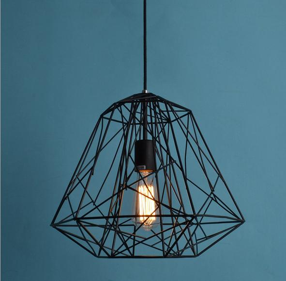 wholesale creative iron article bar pendant lights with bulbs industrial style lamp for study. Black Bedroom Furniture Sets. Home Design Ideas