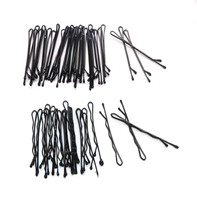 120PCS Hair Accessories Hair Clips for Women Ladies Hair Pins Invisible Curly Wavy Grips Salon Barrette Hairpin Black Barrette lysumduoe headband black hairpin women clip s shape barrette girl hairgrip hairgrips children hairpins jewelry hair accessories