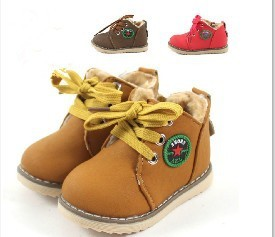 Children shoes, boys&girsl,thickening cotton-padded ,flat bottom, winter warm shoes,three color comfortable shoes, good selling