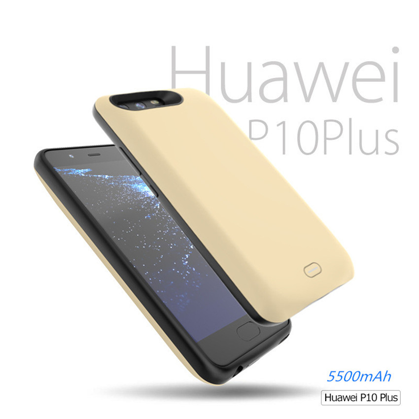 5500mAh Portable Power Bank <font><b>Case</b></font> For <font><b>Huawei</b></font> <font><b>P10</b></font> Plus <font><b>Battery</b></font> Charger Cover For <font><b>Huawei</b></font> <font><b>P10</b></font> Plus Backup <font><b>Battery</b></font> Charging <font><b>Case</b></font> image