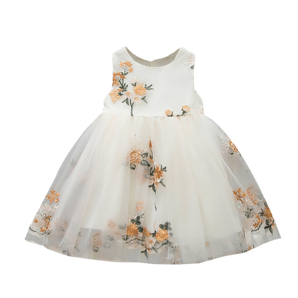 <font><b>Baby</b></font> <font><b>Girl</b></font> <font><b>dress</b></font> Summer <font><b>Dresses</b></font> <font><b>Girl</b></font> Princess Party wedding infant Toddler Tulle tutu Clothes birthday <font><b>Dress</b></font> vestidos bebes 4 image
