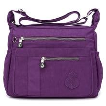 New Women Small Messenger Bags for Women Waterproof Nylon Handbag Female Shoulder Bag Ladies Crossbody Bags bolsa sac a main