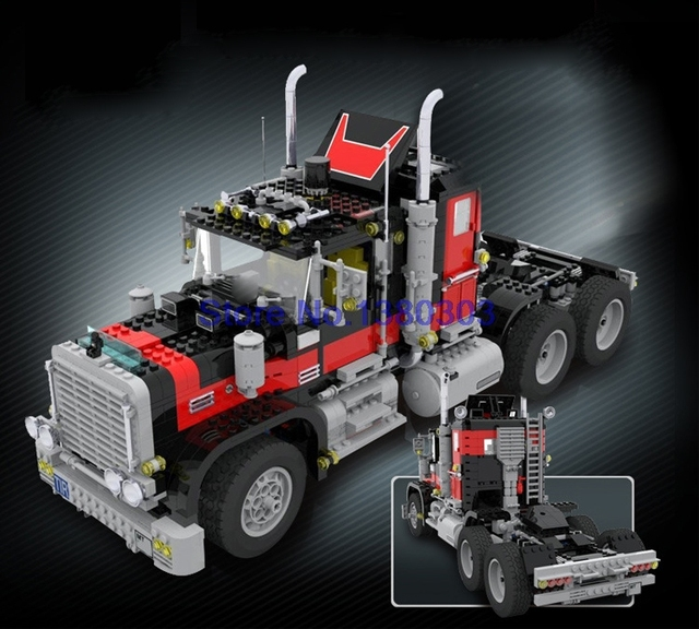 lepin 21015 1743pcs lepin technic giant truck building blocks diy model bricks toys compatible with lego - Camion Lego