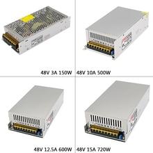 цена на DC48V 3A/5A/7.5/10A/12.5A/15A led Switching Power Supply AC110V 220V to DC 48V Swich Driver Transformer For LED Strip Light CNC