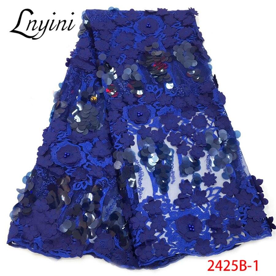 나이지리아 레이스 패브릭 2019 고품질 레이스 코드 레이스 패브릭 탄성 레이스 리본 파티 드레스 무료 배송 뜨거운 판매 L2425B 1-에서레이스부터 홈 & 가든 의  그룹 1