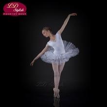 20pcs  Girl Princess Dress Adult Ballet Performance Grading Clothing Professional Skirt Fairy Stage Swan Lake LD0004I