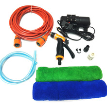 12 v רכב לשטוף כביסה מכונת ניקוי חשמלי משאבת לחץ מכונת כביסה מכשיר כלי עם 2 יחידות מגבת רכב אביזרי רכב סטיילינג
