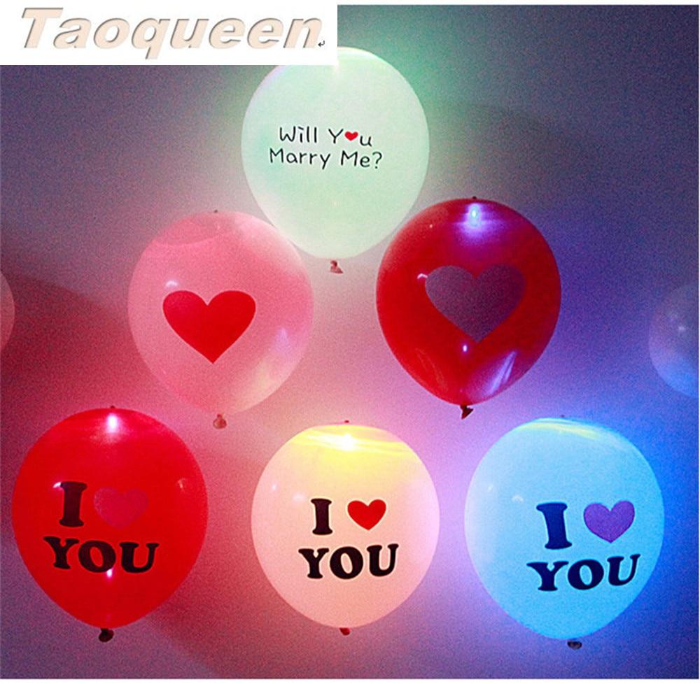 10 Pièces Ballon Lumineux Led Balle Lumineux Latex Azote Ballons Halloween Décor Mariage Fête D'anniversaire Fournitures Dessin Animé Chapeau