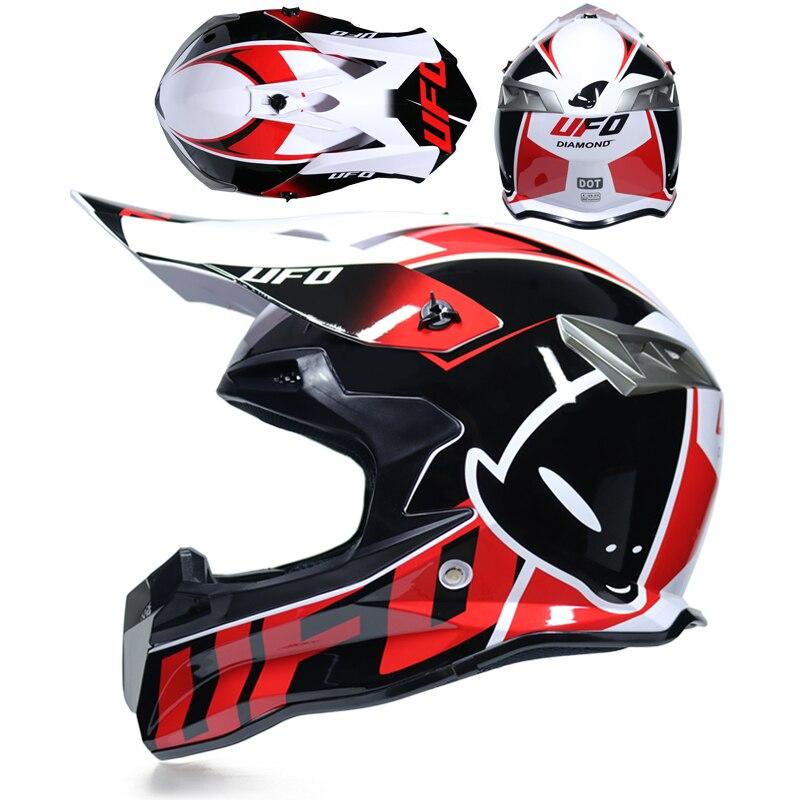 Free Goggle Motocross Helmets Men Women Top Quality Capacete Motocross Off Road Helmet Extreme Sports Supplies