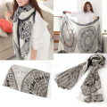 New 2016 Women Ladies Summer Soft Long Foulard Scarves Shawls Vintage Beach Large Wrap Winter Warm Scarf Cape Stole bandana Z2