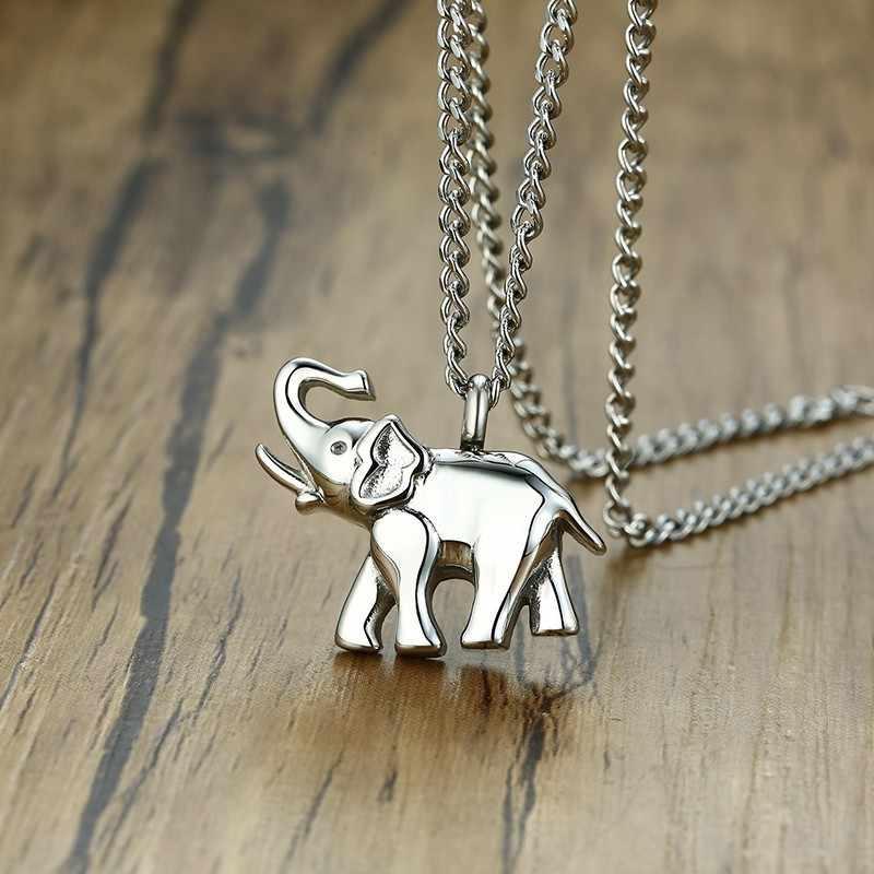 لطيف الجرة مجوهرات جنائزية ل رماد الفيل شكل تذكارية قلادة الفولاذ المقاوم للصدأ تذكار المنجد قلادة للحيوانات الأليفة