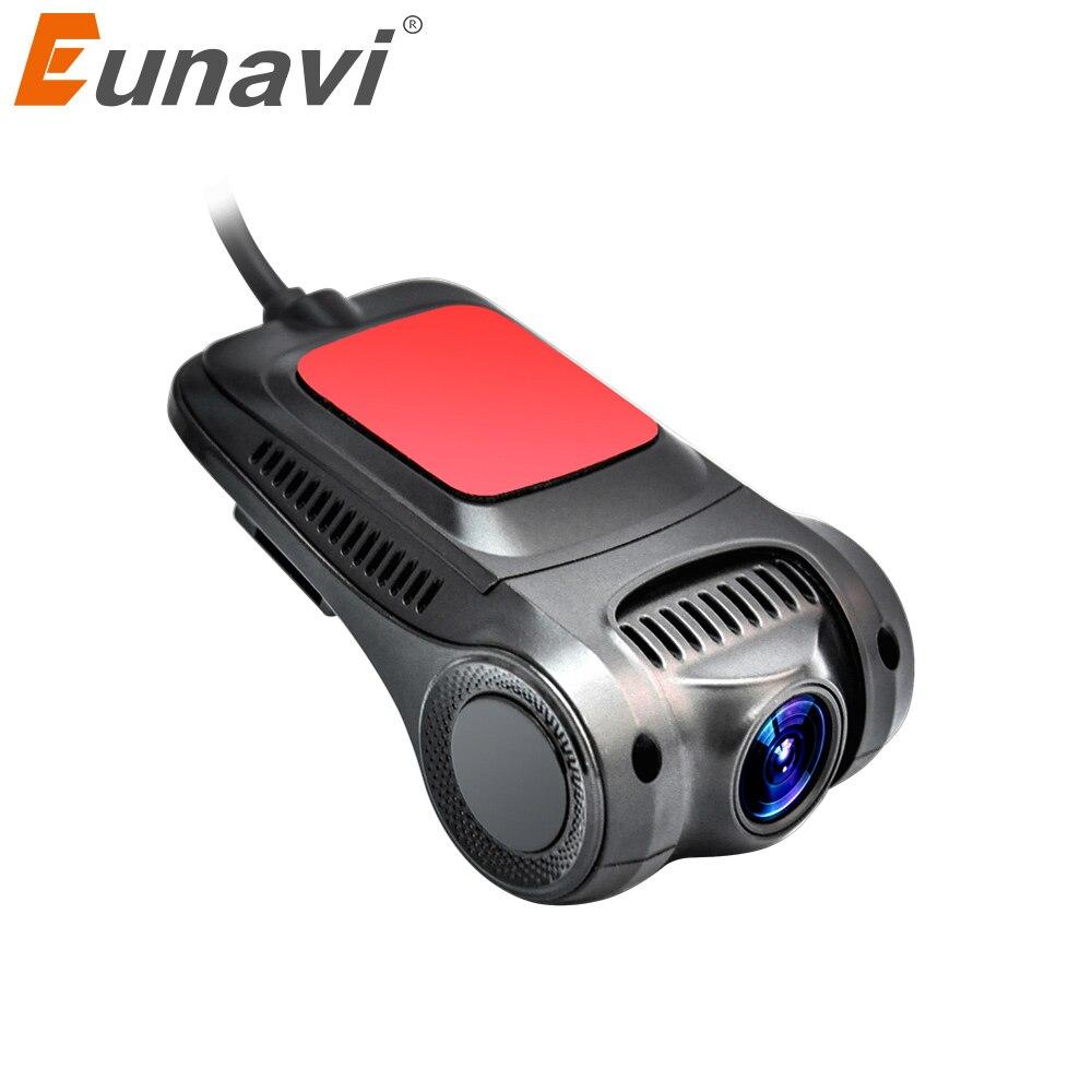 Eunavi 2018 Latest DVR Manufacturer Original Car Matching Hidden Universal Wifi Car DVR HD Camera Less