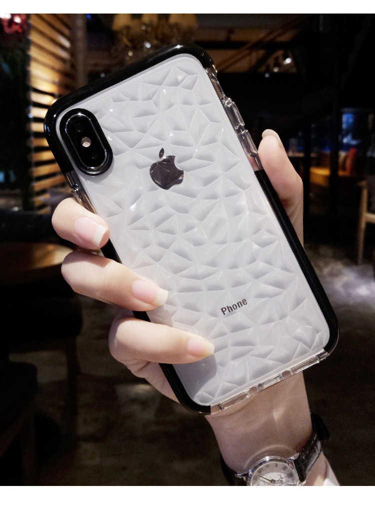ترف جيلي الهاتف حقيبة لهاتف أي فون X XR XS ماكس لينة بولي TPU شفاف مقاوم للصدمات غطاء شفاف آيفون 7 8 6 6s زائد 11 برو ماكس