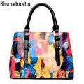2017 New Real Brand Female Package European & American Handbag Elegant Pu Leather Temperament Shoulder Messenger Bags Wholesale