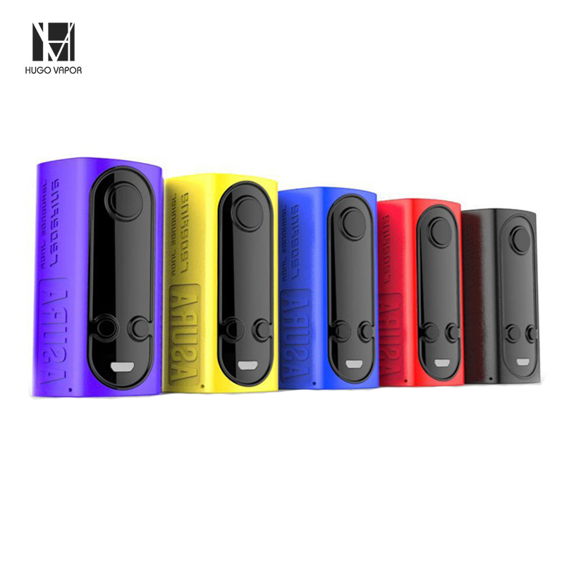Original Hugo Vapor Asura 2-in-1 228W Squonk Box Mod TC Detachable Squonk System GT228 Chipset Dual 18650 Powered Vaping E-cigs иван ласков лето циклонов