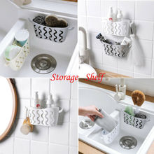 Kitchen Sink Caddy Sponge Holder Storage Organizer Soap Rag Dish Cloth Rack Drying Racks 3 Color