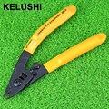 CFS-3 KELUSHI três-port Fibre CFS-3 fibra de Stripper alicates de decapagem/fio strippers stripper FTTH três buraco alicate para miller