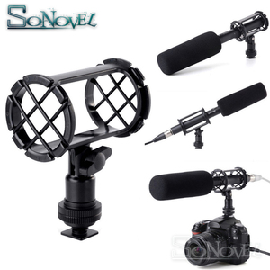 Image 5 - BOYA BY C04 Camera Video Microphone Shock Mount For BY PVM1000 BY PVM1000L Rode NTG 1 NTG 2 NTG 3 NTG 4 19mm 25mm Shotgun Mic