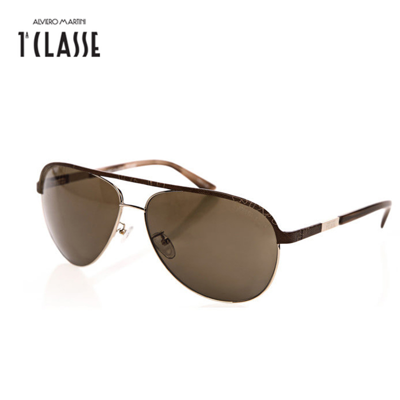 Sunglasses Women Oculos Brand Designer Polaroid Eyewear Metal with Genuine Leather Frame Classic Sun Glasses Original Box MK0226