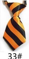 Модный галстук с принтом для мальчиков; Детский галстук; маленький галстук - Цвет: 33