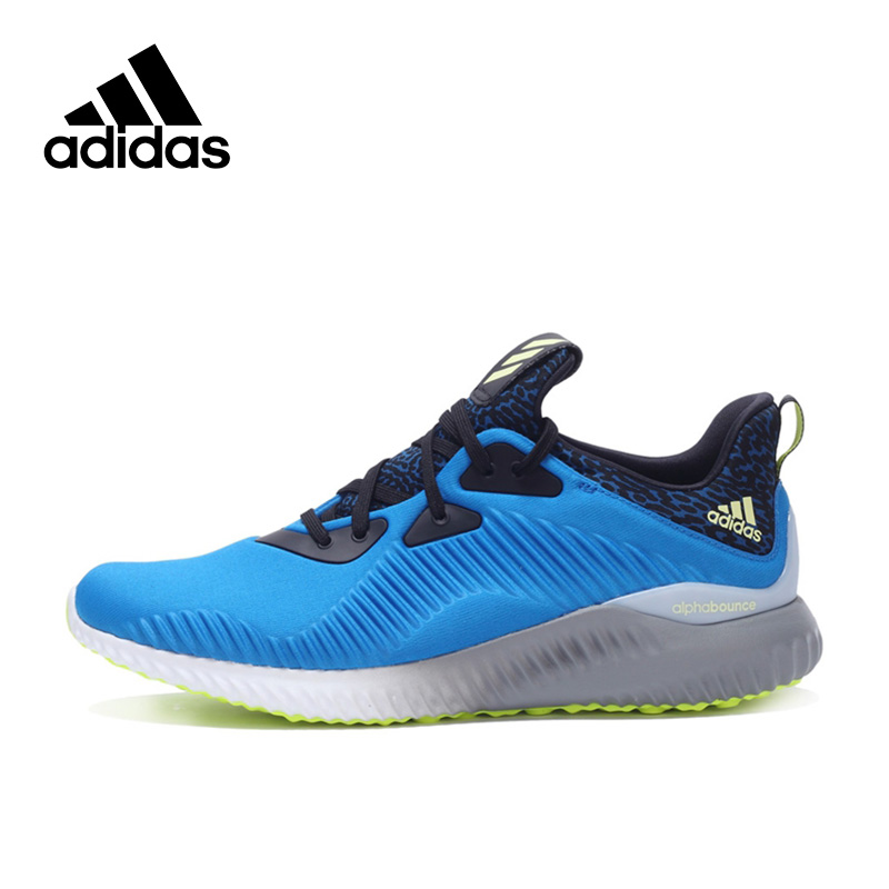 Original New Arrival Authentic Adidas alphabounce m Men's Running Shoes Sneakers Breathable tennis shoes men classic