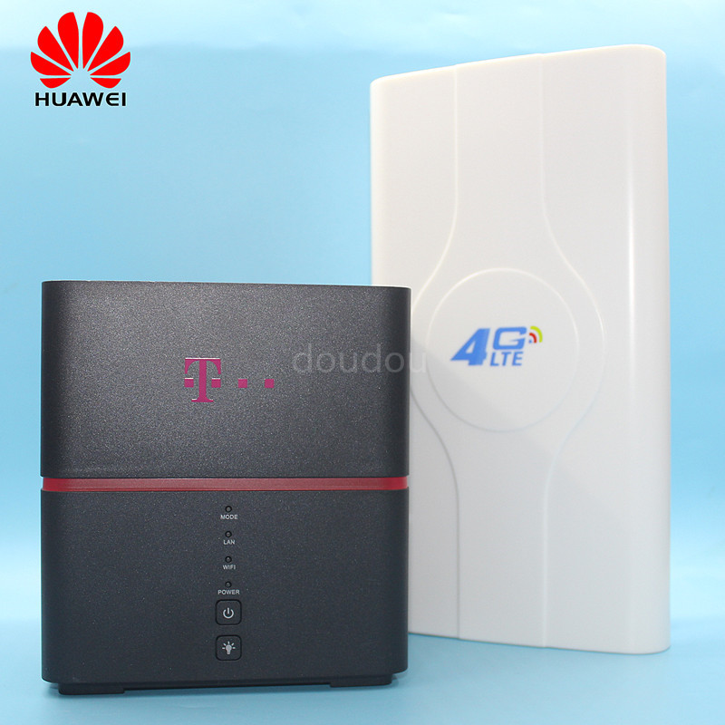Unlocked New Huawei B529 B529s 23a 4G Homenet Router with Antennna 4G LTE CPE Wireless Router Cat. 6 Mobile Hotspot  PK B525-in 3G/4G Routers from Computer & Office