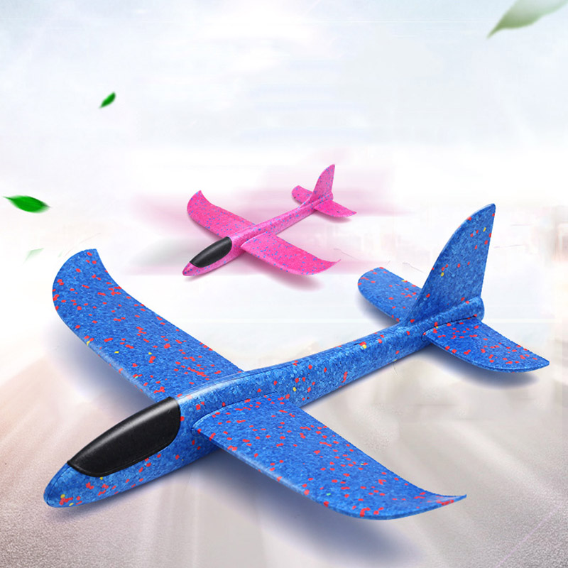 Children Toy Hand Throw Airplane Kid Outdoor Sport EPP Flying Glider Model Large Foam Aircraft Resistant Breakout Plane T0707 (7)
