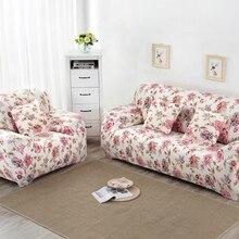 Gedruckt universal Sofa abdeckung flexible Stretch Große Elastizität Couch abdeckung Sofa sofa Funiture Abdeckung blume Maschine Waschbar