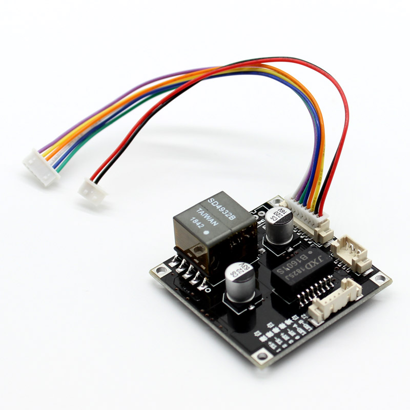 POE Module Board For Security CCTV Network IP Cameras Power Over Ethernet 12V Output IEEE802.3af/at Compliant